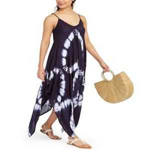 Raviya Tie-Dye Swimsuit Cover-Up Dress Small NEW